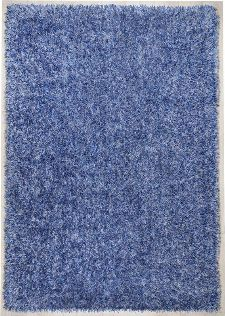 Bild: Teppich Girly Uni (Blau; 120 x 180 cm)
