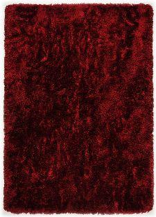 Bild: Hochflorteppich Flokato (Rot; 70 x 140 cm)