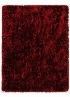 Bild: Hochflorteppich Flokato (Rot; 160 x 230 cm)
