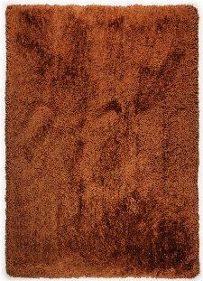 Bild: Hochflorteppich Flokato (Terrakotta; 120 x 180 cm)