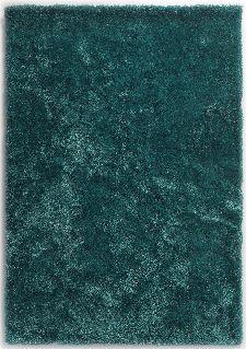 Bild: Tom Tailor - Soft Uni (Türkis; 160 x 230 cm)