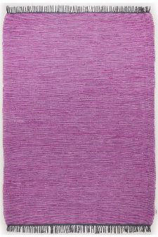 Bild: Tom Tailor Teppich  - Cotton Color (Purple; 60 x 120 cm)
