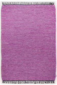 Bild: Tom Tailor Teppich  - Cotton Color (Purple; 160 x 230 cm)