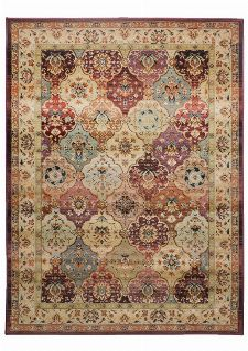 Bild: Bordürenteppich Gabiro Des.208 (Rot; 160 x 235 cm)