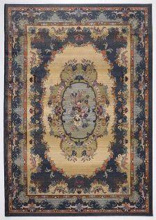 Bild: Teppich Gabiro 221 (Blau; 90 x 60 cm)