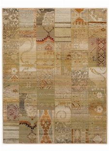 Bild: Patchwork Teppich Gabiro Des.5504 (Beige; 160 x 235 cm)