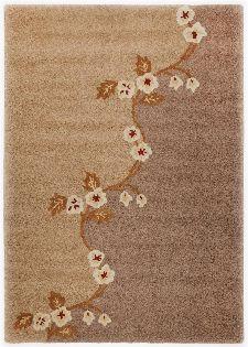Bild: Schurwollteppich Santorino 1233 (Braun; 70 x 140 cm)