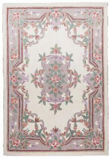 Bild: Aubusson Design Teppich Ming 501 (Beige; 90 x 160 cm)