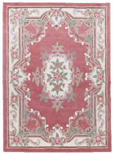 Bild: Aubusson Design Teppich Ming 501 (Rose; 70 x 140 cm)