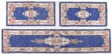 Bild: Aubusson Design Bettumrandung Ming 501 (Blau; 70 x 600 cm)