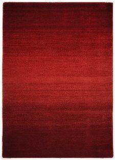 Bild: Schurwollteppich Wool Star Ombre (Rot; 70 x 140 cm)