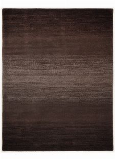 Bild: Schurwollteppich Wool Star Ombre (Braun; 70 x 140 cm)