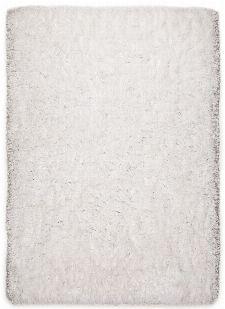 Bild: Hochflorteppich Flokato (Weiß; 190 x 290 cm)