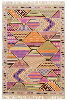 Bild: Ethno Teppich Kelus 6091 (Multicolor; 70 x 140 cm)