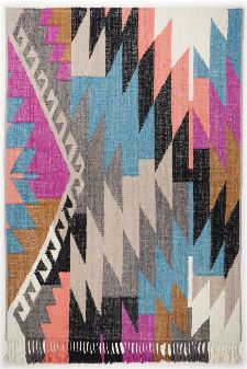Bild: Tom Tailor Teppich - Funky Kelim (Multi; 160 x 230 cm)