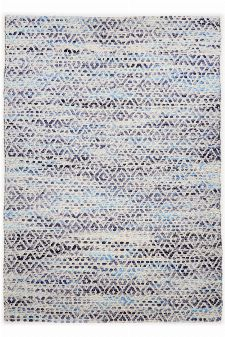 Bild: Teppich Smooth Comfort - Diamond (Blau; 160 x 230 cm)