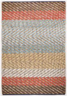 Bild: Teppich Smooth Comfort - Pastell Stripe (140 x 200 cm)