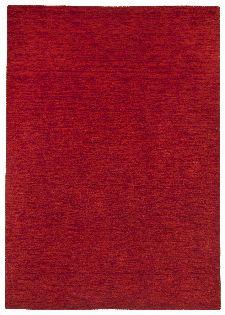 Bild: Schurwollteppich Haltu Uni Gabbeh (Rot; 140 x 200 cm)