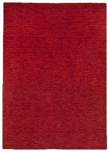 Bild: Schurwollteppich Haltu Uni Gabbeh (Rot; 170 x 240 cm)