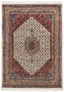 Bild: Perser Teppich Benares Bidjar (Beige; 90 x 160 cm)