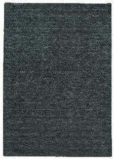 Bild: Schurwollteppich Haltu Uni Gabbeh (Grün/Anthrazit; 70 x 140 cm)