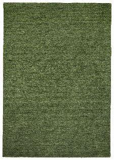 Bild: Schurwollteppich Haltu Uni Gabbeh (Grün; 90 x 160 cm)