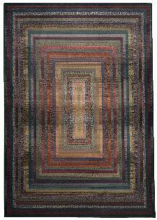 Bild: Kurzflor Teppich Gabiro Des.001 (Lila; 90 x 160 cm)
