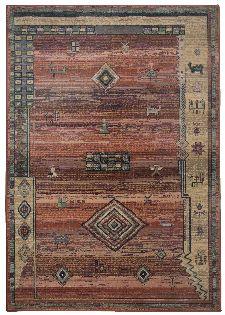 Bild: Teppich Gabiro Des.002 Gabbeh Optik (Terrakotta; 160 x 235 cm)