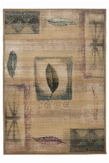 Bild: Kurzflor Teppich Gabiro Des.003 (Beige; 68 x 135 cm)