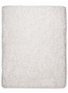 Bild: Langflor Teppich - Flocatic (Weiß; 70 x 140 cm)