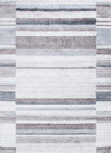 Bild: Streifenteppich Venice ZO-973-15 (Grau; 70 x 140 cm)