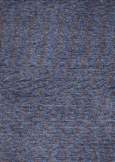 Bild: Melierter Teppich Nebraska Uni (Türkis; 70 x 140 cm)