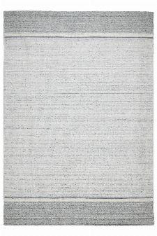 Bild: Streifenteppich Kopenhagen ZO-815-15 (Grau; 70 x 140 cm)