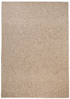 Bild: Schurwollteppich Douro (Braun; 140 x 200 cm)