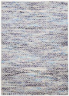 Bild: Teppich Smooth Comfort - Diamond (Blau; 85 x 155 cm)