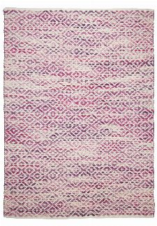 Bild: Teppich Smooth Comfort - Diamond (Rosa; 65 x 135 cm)