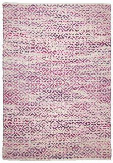 Bild: Teppich Smooth Comfort - Diamond (Rosa; 85 x 155 cm)