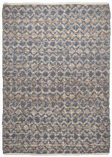 Bild: Teppich Smooth Comfort - Geometric (Anthrazit; 65 x 135 cm)