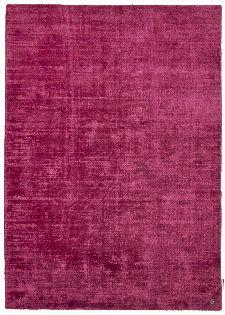 Bild: Viskose Teppich - Shine Uni (Pink; 65 x 135 cm)