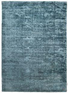 Bild: TOM TAILOR Viskose Teppich - Shine Uni (Aqua; 65 x 135 cm)