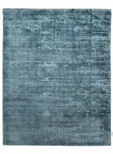 Bild: TOM TAILOR Viskose Teppich - Shine Uni (Aqua; 140 x 200 cm)