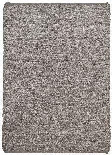 Bild: Schurwollteppich Woll Lust Uni (Grau; 70 x 130 cm)