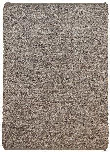 Bild: Schurwollteppich Woll Lust Uni (Braun; 160 x 230 cm)