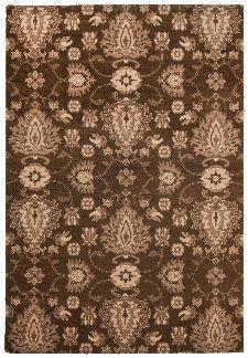 Bild: Ornament Teppich Timeless 001 (Braun; 160 x 230 cm)