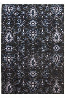 Bild: Ornament Teppich Timeless 001 (Anthrazit; 80 x 150 cm)