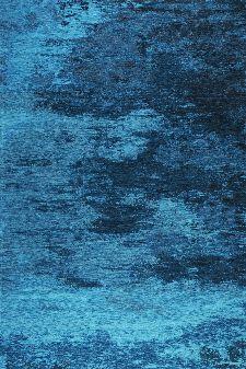 Bild: Kapstadt Cloud meliert (Türkis; 155 x 230 cm)