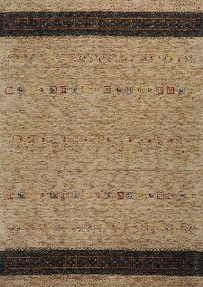 Bild: Gabbeh Teppich Lori Dream (Hellbraun; 140 x 200 cm)