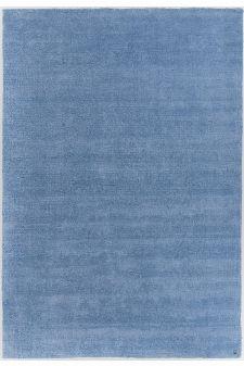 Bild: Kurzflor Teppich - Powder (Blau; 85 x 155 cm)