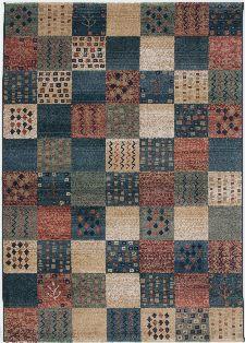 Bild: Karo Teppich Gabiro Des.2274 (Multicolor; 160 x 235 cm)