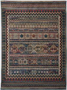 Bild: Ethno Teppich Gabiro Des.416 (Multicolor; 200 x 285 cm)